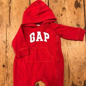 Gap one piece with hoodie
